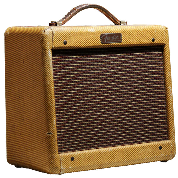 1956 Fender Champ Tweed Amp - Garrett Park Guitars  - 1