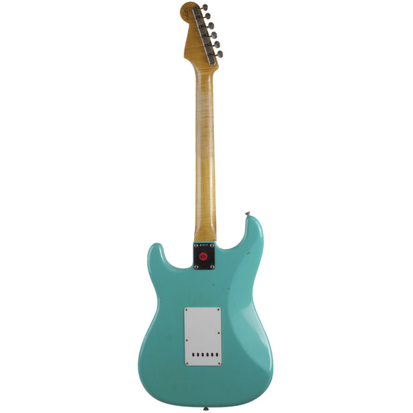2015 Fender Custom Shop 1959 Journeyman Relic Stratocaster RW, Sea Foam Green - Garrett Park Guitars  - 6