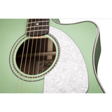 Fender Dreadnaught Surf Green - Garrett Park Guitars  - 7