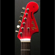 1964 FENDER JAGUAR CANDY APPLE RED - Garrett Park Guitars  - 8