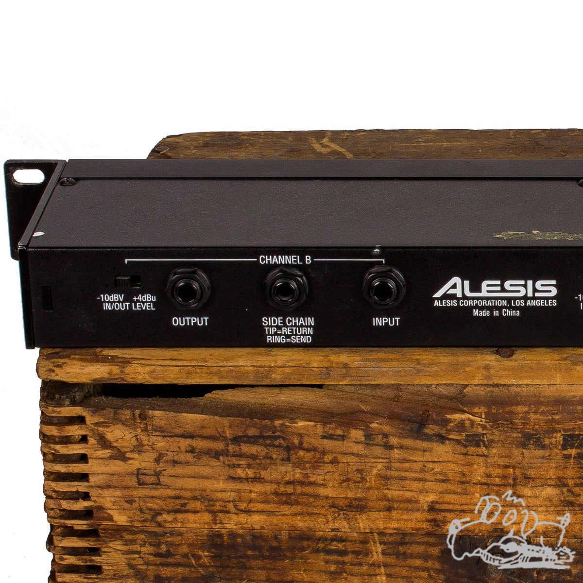 Alesis Studio Electronics 3630 Compressor RMS/Peak Dual Channel Compressor Limiter With Gate