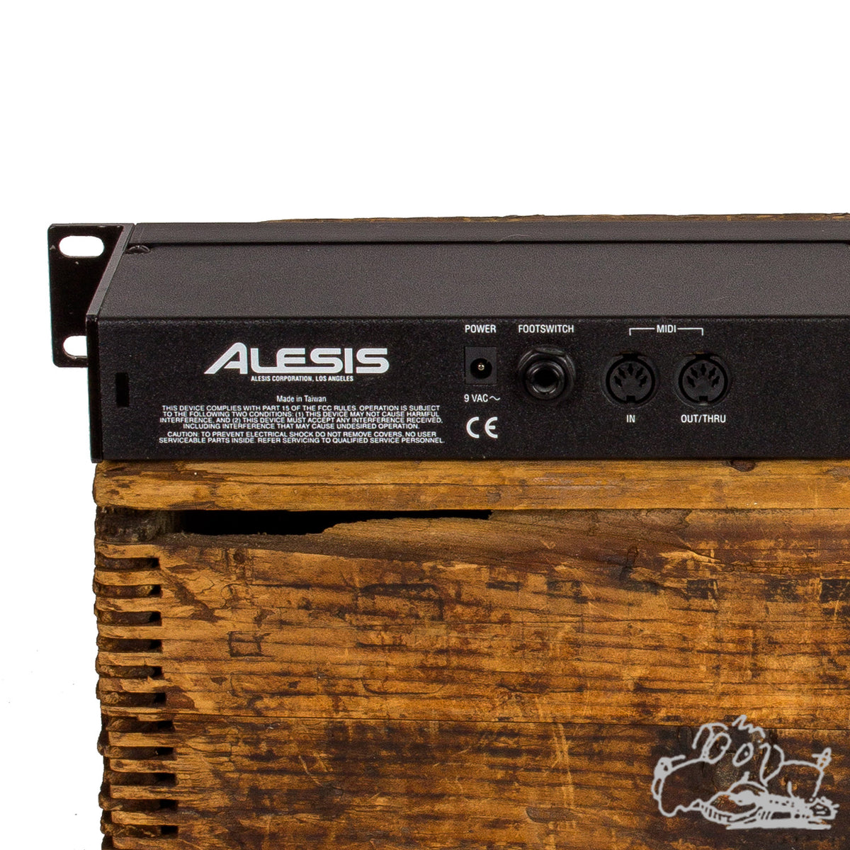 Used Alesis Studio Electronics Microverb 4 Preset/Programable 18 Bit Signal Processing