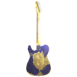FENDER CUSTOM SHOP PURPLE SPARKLE TELECASTER CUSTOM RELIC - Garrett Park Guitars  - 6
