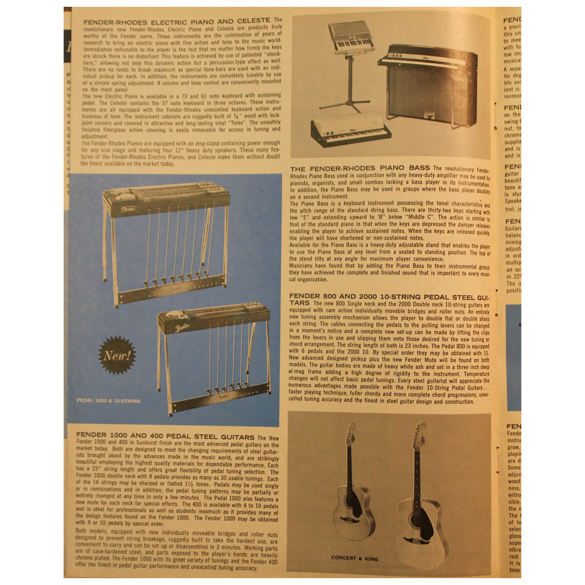 Fender Catalog Collection (1955-1966) - Garrett Park Guitars  - 78