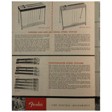 1959 Fender Catalog - Garrett Park Guitars  - 6