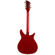 3/4 Left Handed Rickenbacker Red - Garrett Park Guitars  - 6