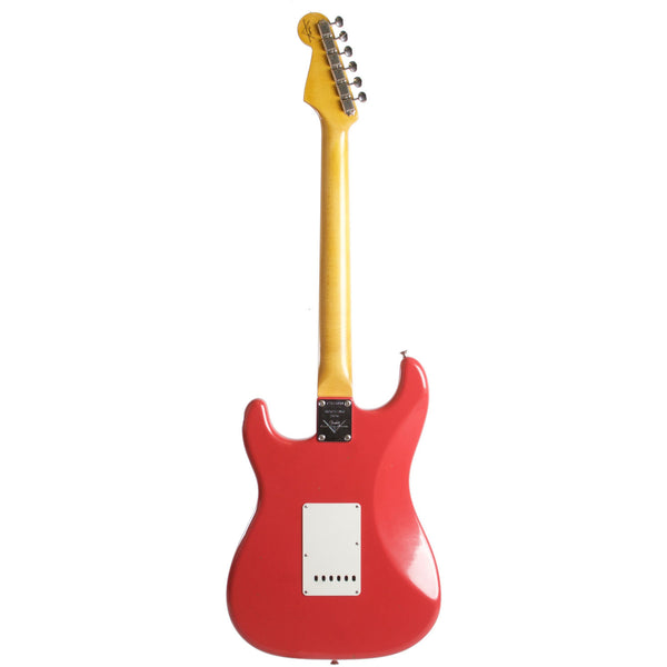 2015 Fender Custom Shop Rocking Dog '62 Stratocaster Fiesta Red - Garrett Park Guitars  - 6