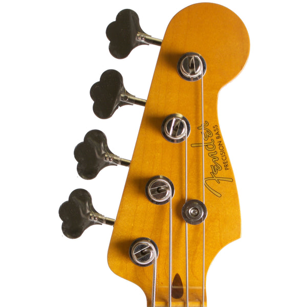 2015 Fender Classic Series 50's Precision Bass Lacquer Midnight Black - Garrett Park Guitars  - 7