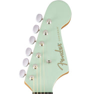 Fender Dreadnaught Surf Green - Garrett Park Guitars  - 8