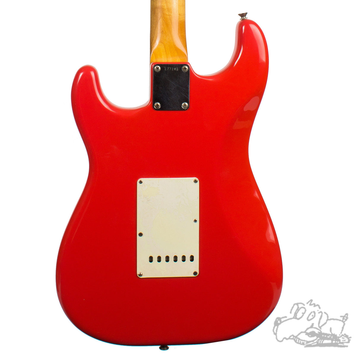 1965 Fender Stratocaster refinished in Fiesta Red