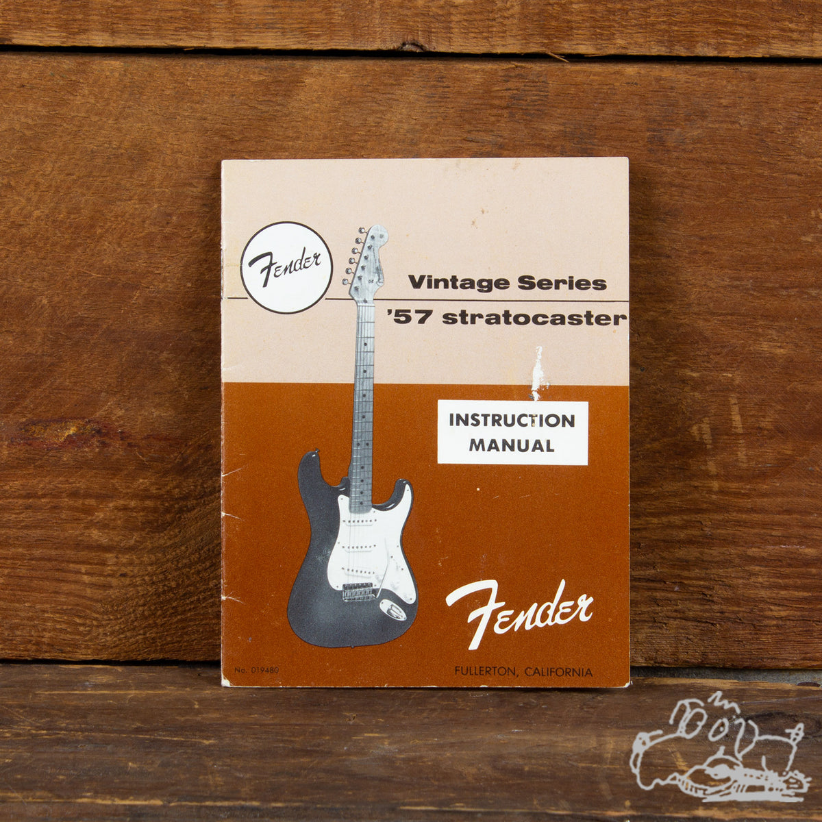 1982 Fender Vintage Series '57 Stratocaster Instruction Manual