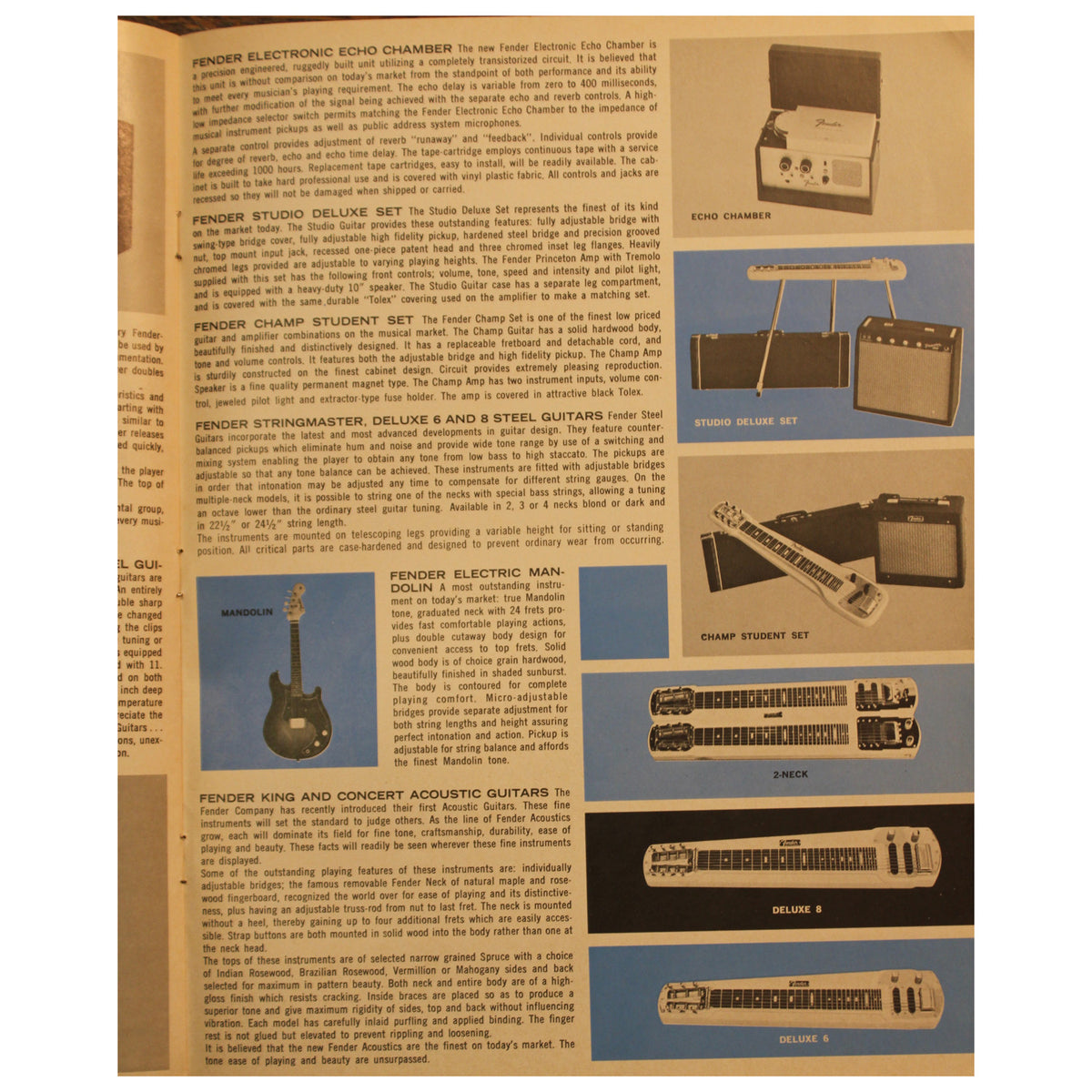 Fender Catalog Collection (1955-1966) - Garrett Park Guitars  - 79
