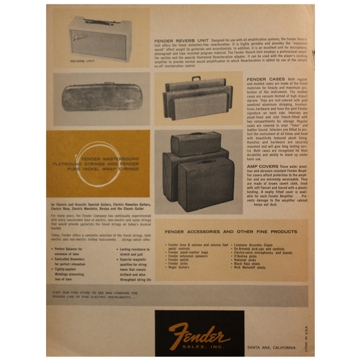 Fender Catalog Collection (1955-1966) - Garrett Park Guitars  - 72