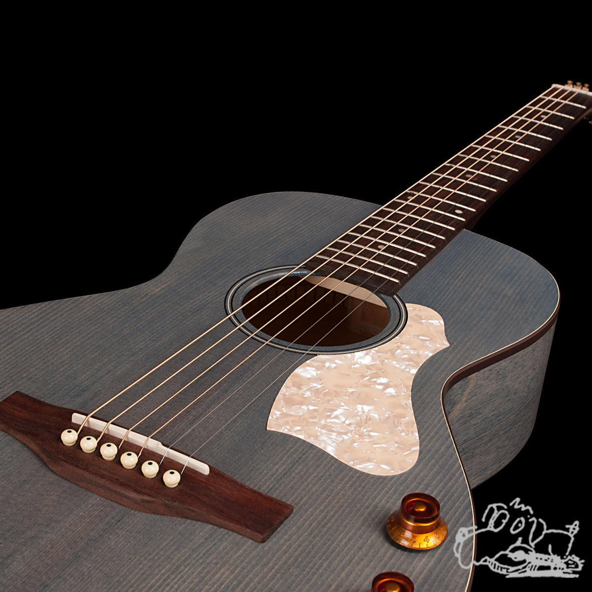 Art & Lutherie Roadhouse Acoustic Guitar - Denim Blue