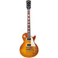 2001 Gibson '58 Reissue Les Paul, LPR8, Dark Butterscotch - Garrett Park Guitars  - 4