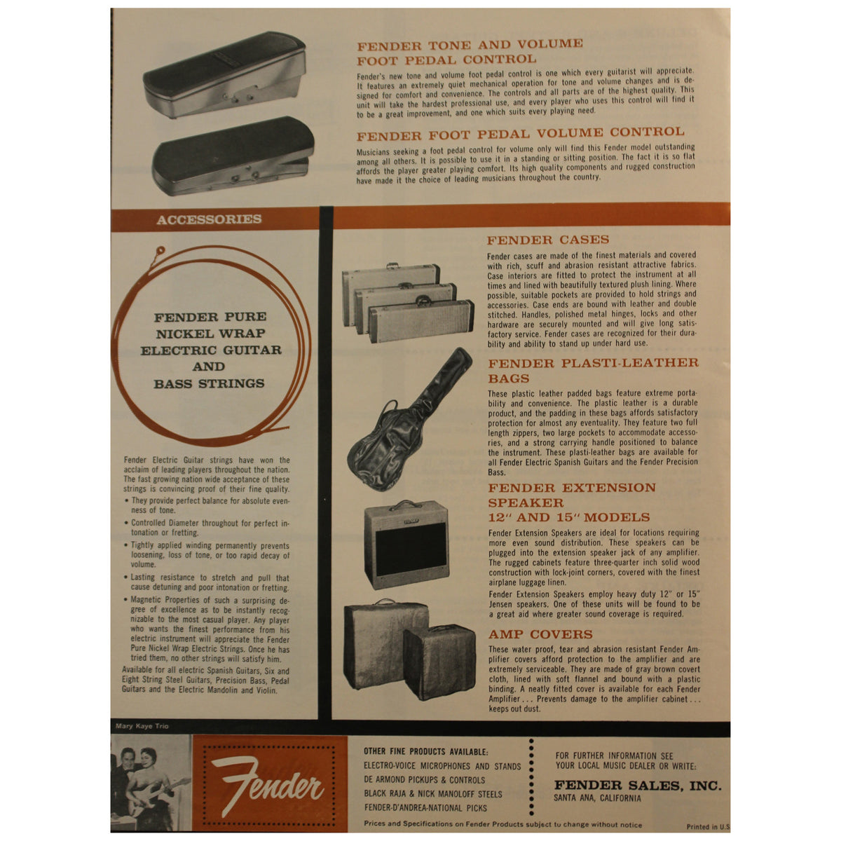 Fender Catalog Collection (1955-1966) - Garrett Park Guitars  - 32