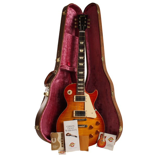 2003 Gibson Custom Shop '59 Reissue, Washed Cherry, Brazilian Board - Garrett Park Guitars  - 12