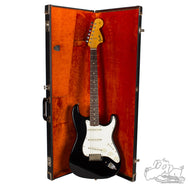 1967 Fender Stratocaster in factory Black finish