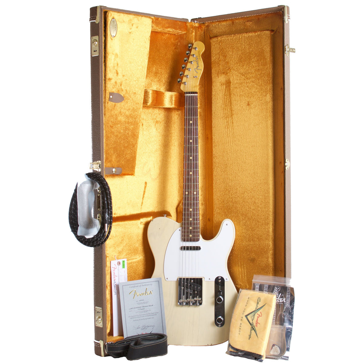 2015 Fender Custom Shop Junkyard Dog '62 Telecaster, Journeyman Relic - Garrett Park Guitars  - 9