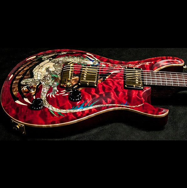 2000 PRS DRAGON 2000 #15 QUILT RED - Garrett Park Guitars  - 14
