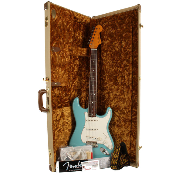 2016 Eric Johnson Stratocaster Rosewood in Tropical Turquoise