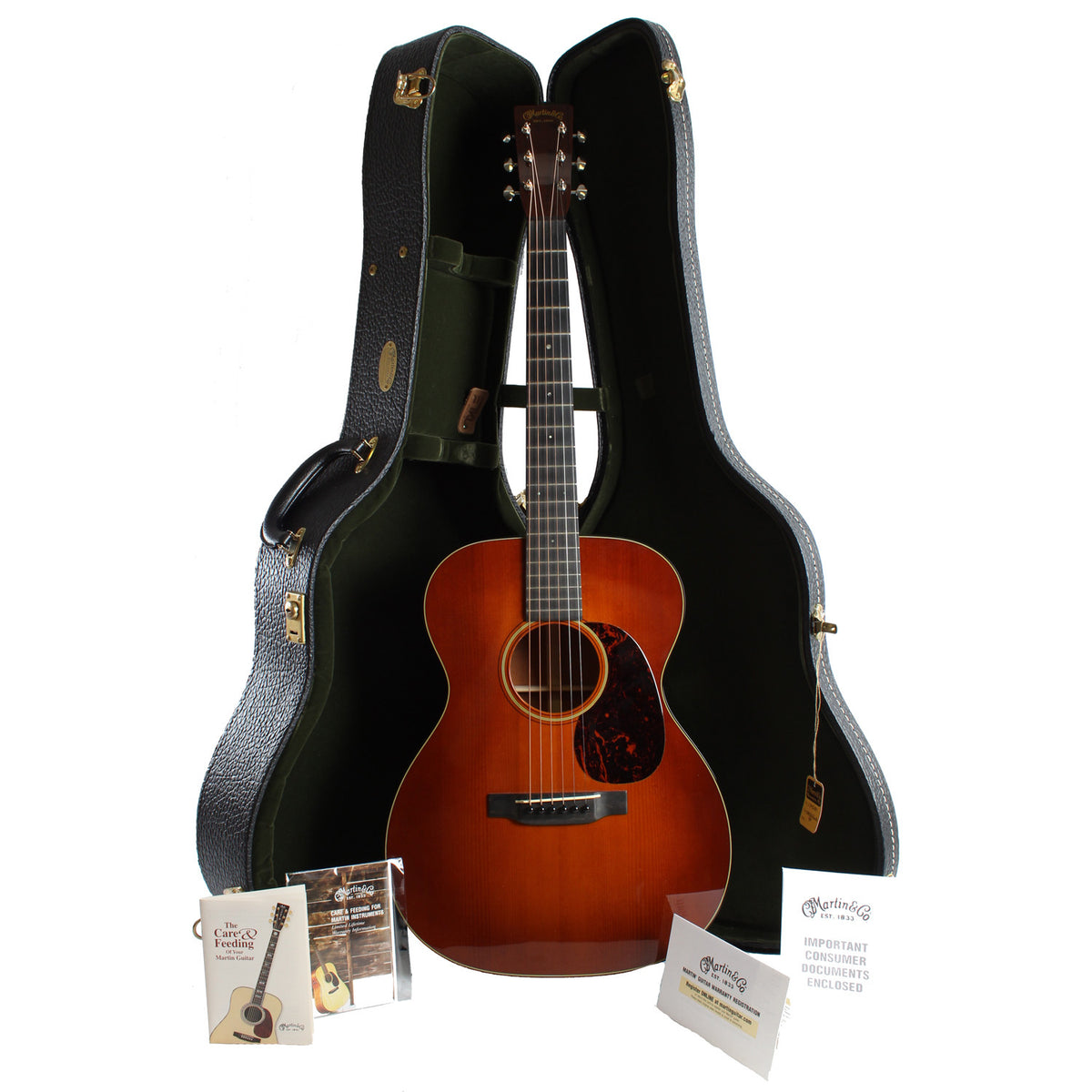 2013 Martin OM-18 Authentic 1933 - Garrett Park Guitars  - 9