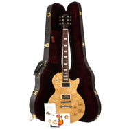2001 Gibson Custom Shop Les Paul Standard Korina with Quilt top - Garrett Park Guitars  - 9