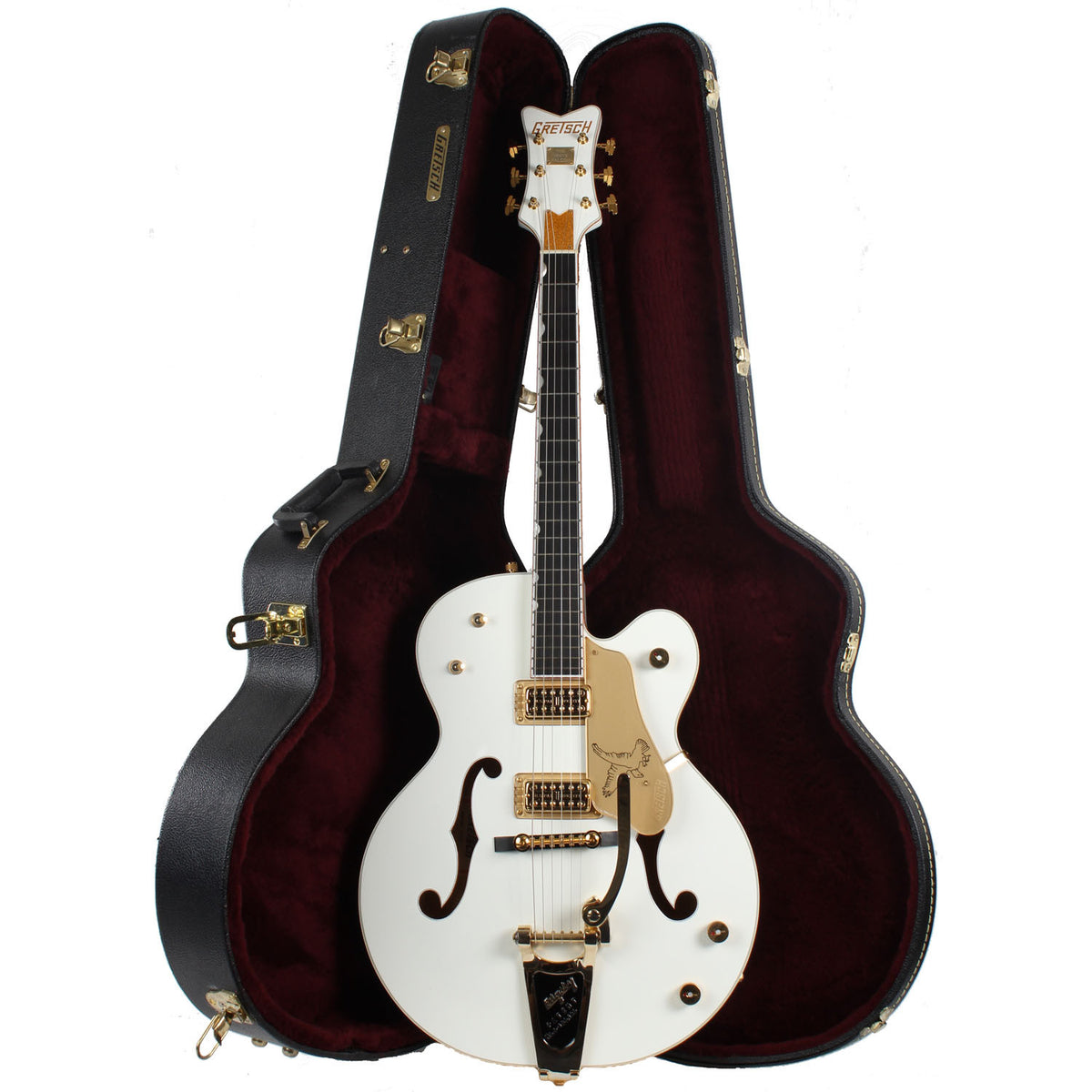 2008 Gretsch White Falcon G6136T - Garrett Park Guitars  - 9