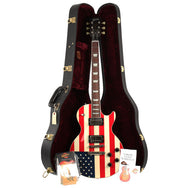 2001 Gibson September 11th Tribute Flag Les Paul - Garrett Park Guitars  - 9