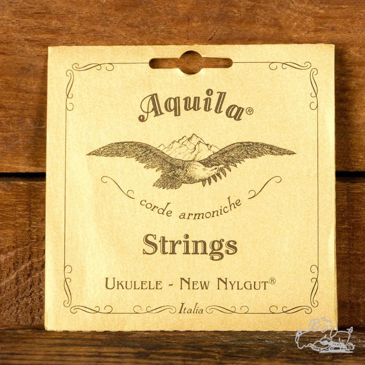 Aquila Concert Ukelele Nylon Strings - Made in Italy - New Nylgut