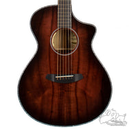 Breedlove Oregon Concert Black Cherry CE LTD Myrtlewood - Myrtlewood 24365