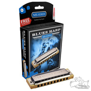 Hohner MS-Series Blues Harp In Assorted Keys - A, Bb, B, C, D, E, F, G
