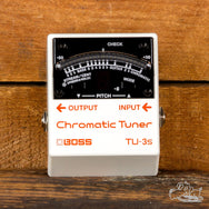Boss Tuner TU-3s Chromatic Electric Guitar Pedal Tuner