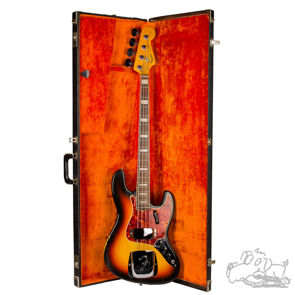 1966 Fender Jazz Bass in Sunburst