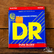 DR Pure Blues Pure Nickel-Round Core 9-42 Electric Guitar Strings