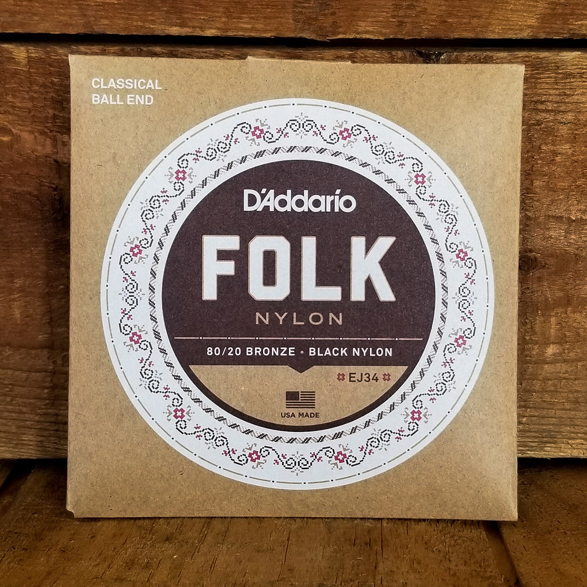 D'Addario EJ34 Folk Acoustic Strings
