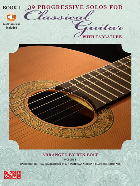 39 Progressive Solos for Classical Guitar