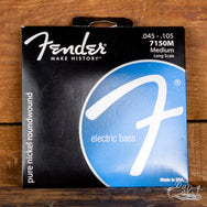 Fender Pure Nickel Round Wound 45-105 Electric Bass Strings