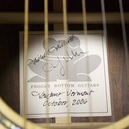2006 Froggy Bottom D-12 Original Prototype - Garrett Park Guitars  - 11