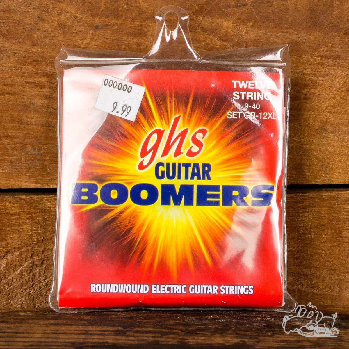 GHS Boomers 12-String 9-40 Roundwound Extra Light Electric Guitar Strings