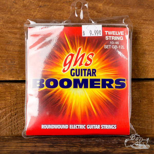 GHS Boomers 12-String 10-46 Roundwound Light Electric Guitar Strings