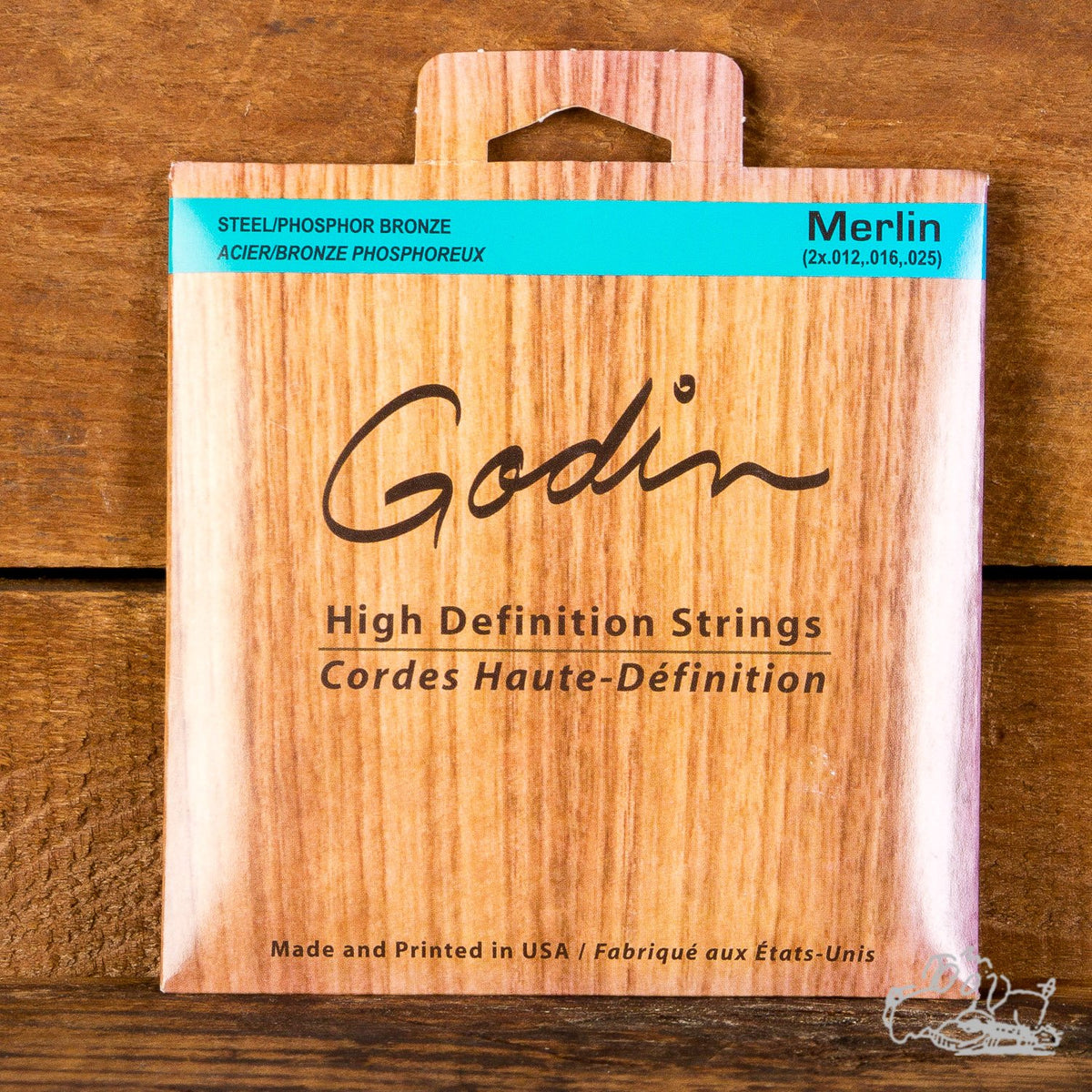 Godin 12-25 High Definition Merlin Acoustic Strings