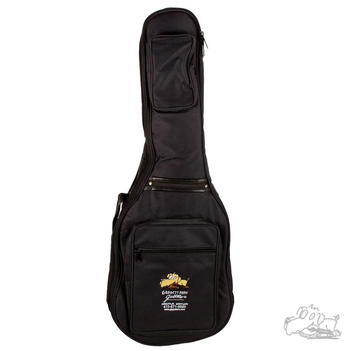 Garrett Park Guitars Embroidered Super Deluxe Electric Guitar Nylon Soft Case Gig Bag
