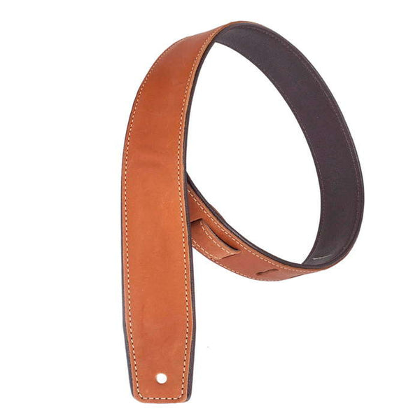 Henry Heller Leather Piping Guitar Straps
