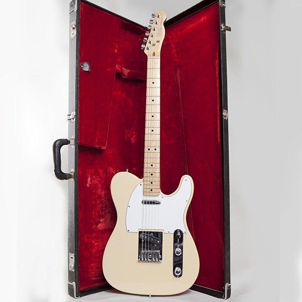 1983 Fender Telecaster, Blonde with Maple Neck - Garrett Park Guitars  - 10
