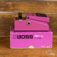1980's Boss BF-2 Flanger (Black Label) MIJ