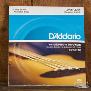 D'Addario Phosphor Bronze Light Acoustic Bass Strings .045-100