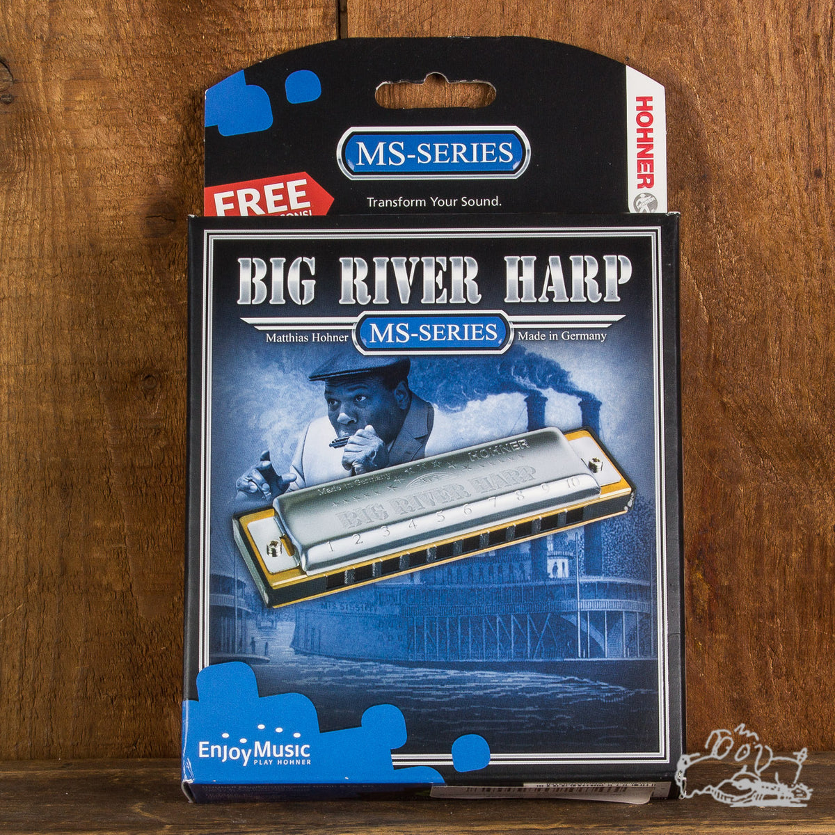 Hohner Big River Harp Harmonicas Assorted Keys