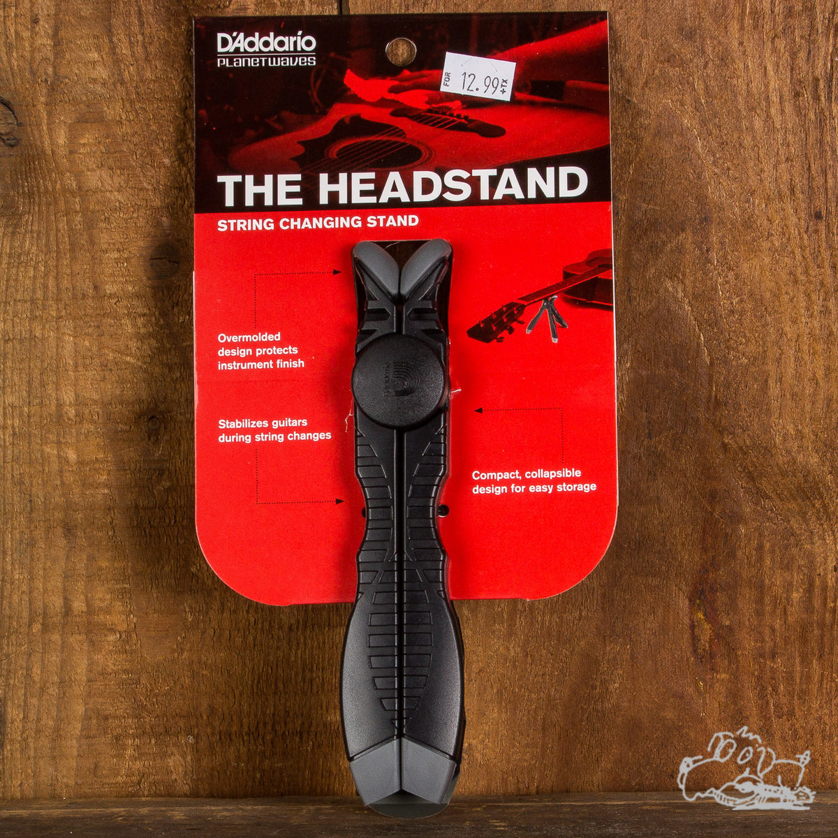 D'Addario Planet Waves The Headstand String Changing Stand