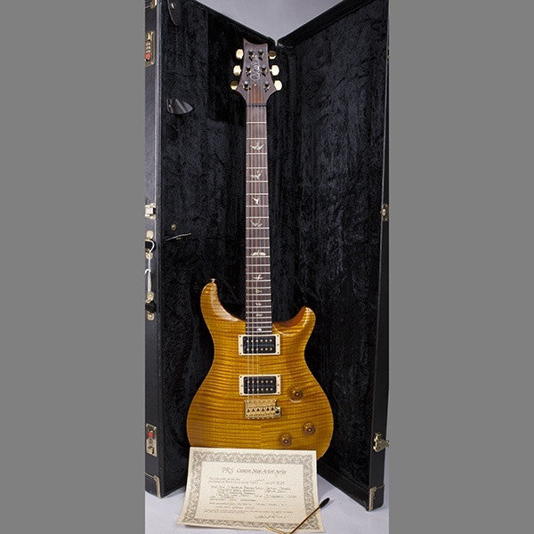 1992 PRS Artist I #247, Amber with Gold Parts, Tremolo - Garrett Park Guitars  - 11